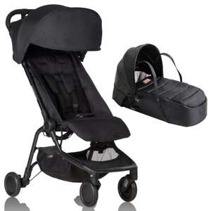 Mountain Buggy Nano Stroller & Carrycot - Black £189.95 free delivery at Online4baby