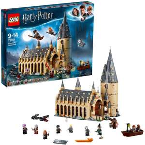LEGO Harry Potter Hogwarts Castle Great Hall - £64.77 at Amazon Germany