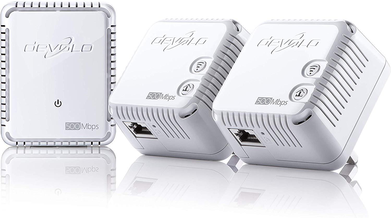 devolo dLAN 500 Wi-Fi Powerline Network Kit £54.88 at Amazon
