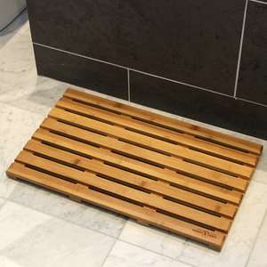 Maison & White Bamboo Duckboard Bath Mat £10.99 Delivered Using Code @ Roov
