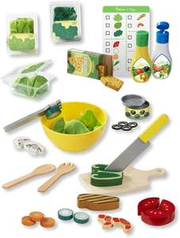 Melissa & Doug Slice & Toss Salad Set £7.49 (Prime) £11.98 (Non-Prime) @ Amazon