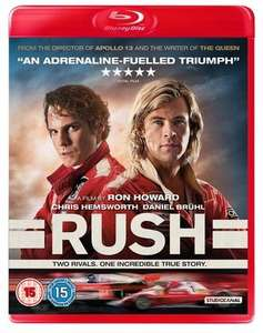Rush (Blu-ray) [Pre-owned] - £1.70 Delivered @ Music Magpie