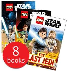Lego Star Wars Episode I - VIII readers collection 8 books £7.20 delivered@the book people(£4.25 & free delivery on £25 spend)
