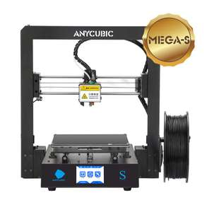 ANYCUBIC MEGA-S 3D Printer £279 - Sold by ANYCUBIC Store (UK) and Fulfilled by Amazon.