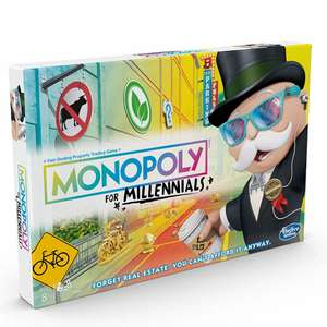 Monopoly - Millennial Edition £9.99 delivered @ IWOOT