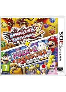 Puzzle and Dragons Z + Puzzle and Dragons Super Mario Bros. Edition (3DS/2DS) £5.89 delivered @ Base