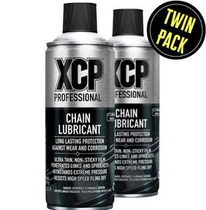 XCP Motorcycle Chain Lube 2 x 400ml £11.99 at M&P Direct