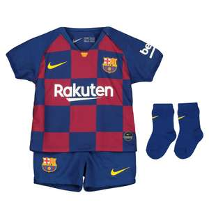 Nike FC Barcelona 2019/20 Home Kit Infant £25 + £1 click & collect at JD Sports