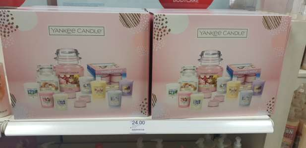 Yankee candle favt set £24 at Boots