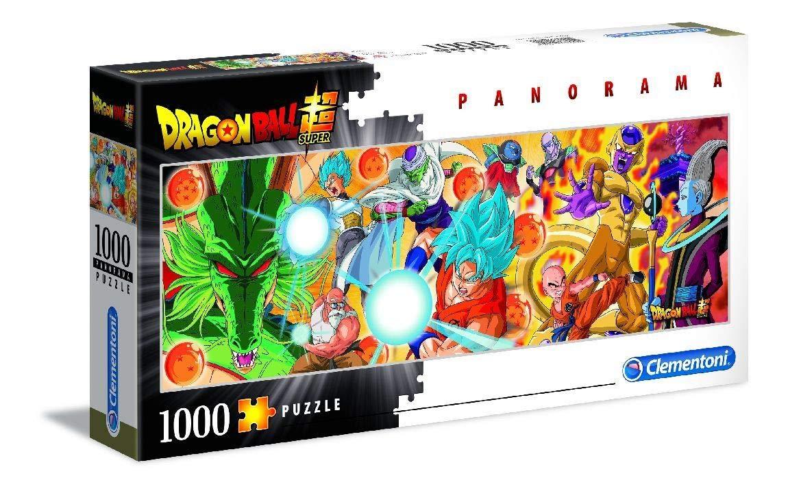 Clementoni 39486 Dragon Ball Super 1000 Piece Panorama Puzzle £3.76 Prime / £8.25 Non-Prime at Amazon