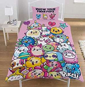 PIKMI POPS Duvet Set £9.99 (+£4.49 Non Prime) Sold by Kidco and Fulfilled by Amazon