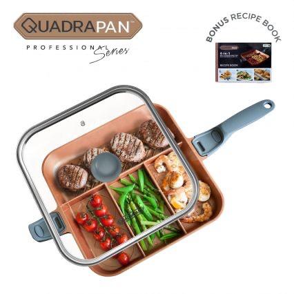 QuadraPan Professional - 4 in 1 Multi Cooking Pan £24.99 @ High Street TV