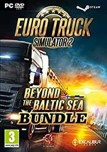 Euro Truck Simulator 2 + Beyond The Baltic Sea Add-on Bundle PC DVD £4.92 + £2.99 NP @ Amazon