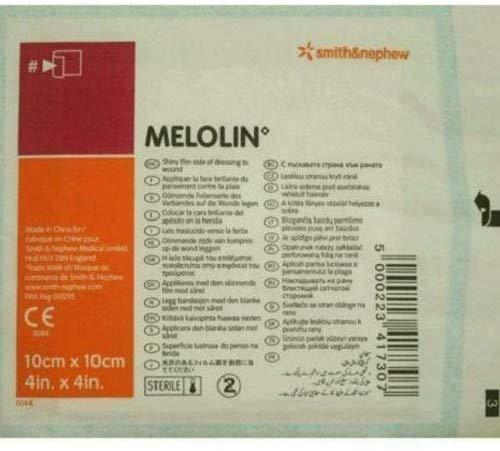 Smith & Nephew Melolin Wound Dressing (10cm x 10cm) 31p (Minimum order 10 - Total £3.10) @ Amazon (+£4.49 Non-prime)