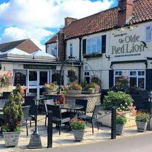 Yorkshire: 1-3 Nights for Two with Breakfast at Ye Olde Red Lion £33.15 with code @ Groupon