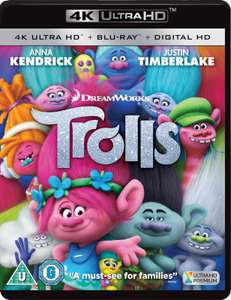 Trolls 4k + Blu-Ray + Google Play £4.99 delivered @ cardboardstory4 / Ebay