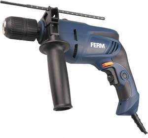 FERM PDM1052 Keyless Chuck Variable Speed Control Soft Grip Impact Drill, 800W, 230V,1.5-13mm - £18.45(Prime)/ £22.94(NP) delivered @ Amazon