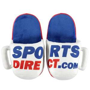 Mug style slippers £1 @ Sports Direct (+£4.99 P&P)