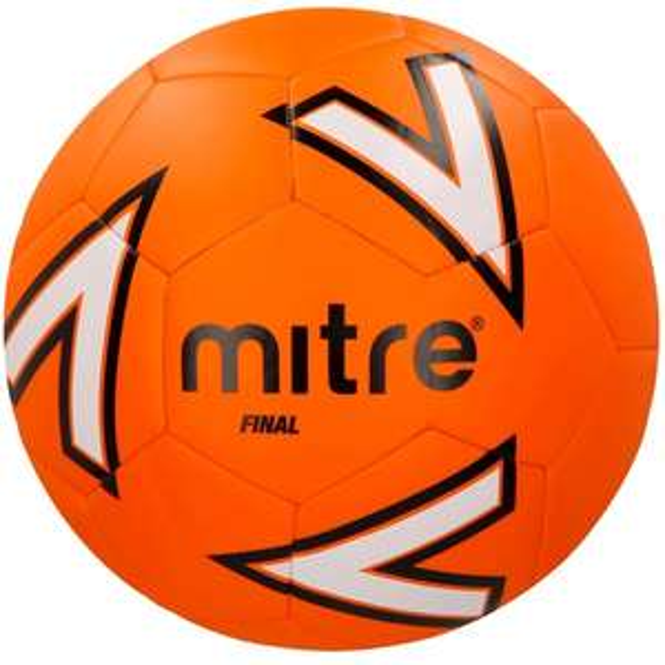 Mitre Size 5 Final Footballs £5 (Green/Pink) @ Mitre