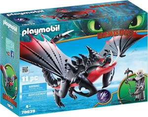 Playmobil DreamWorks Dragons Deathgripper with Grimmel for Children Ages 4+ £8.99 (Prime) £13.48 (Non-Prime) @ Amazon