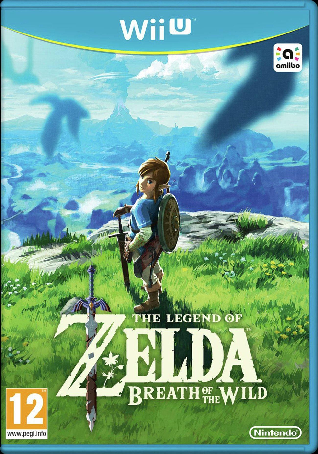 Legend of Zelda: Breath of the Wild Wii U £26.99 @ Argos