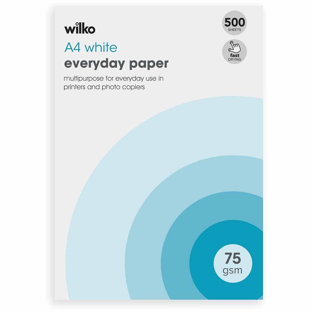 Wilko Branded Copier Paper, 2 Reams For £5