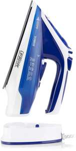 Tower T22008BLU CeraGlide 2-in-1 Cord or Cordless Iron with Non-Stick Ceramic Soleplate, 160g £19.99 + £4.49 NP @ Amazon