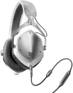 V-MODA Crossfade M-100 Over-Ear Noise-Isolating Metal Headphone - White Silver £95 @ Amazon