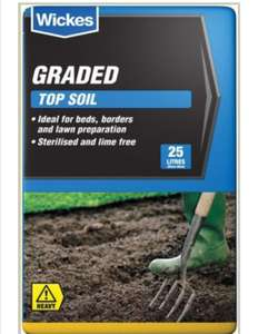 Top Soil 4 for £10 is back (25L bags) - free click & collect @ Wickes