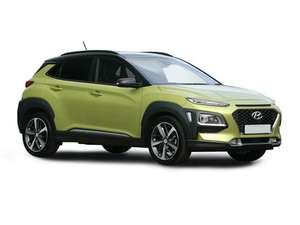 HYUNDAI KONA Hatchback EV - 150kW Premium 64kWh 5dr Auto [7kW Charger] at New Car Discount for £33000