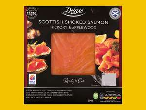 Deluxe Scottish Smoked Salmon (100g) Hickory & Applewood for £1.99 @ Lidl