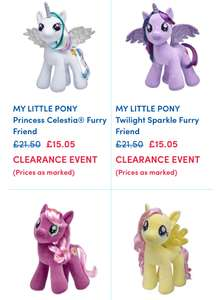 Two My Little Pony Bears for £30.10 delivered or Joker & Batman @ Build a Bear