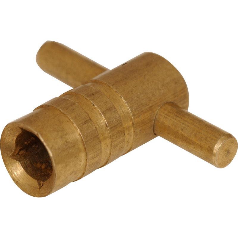 Radiator Key Brass 59p at Toolstation