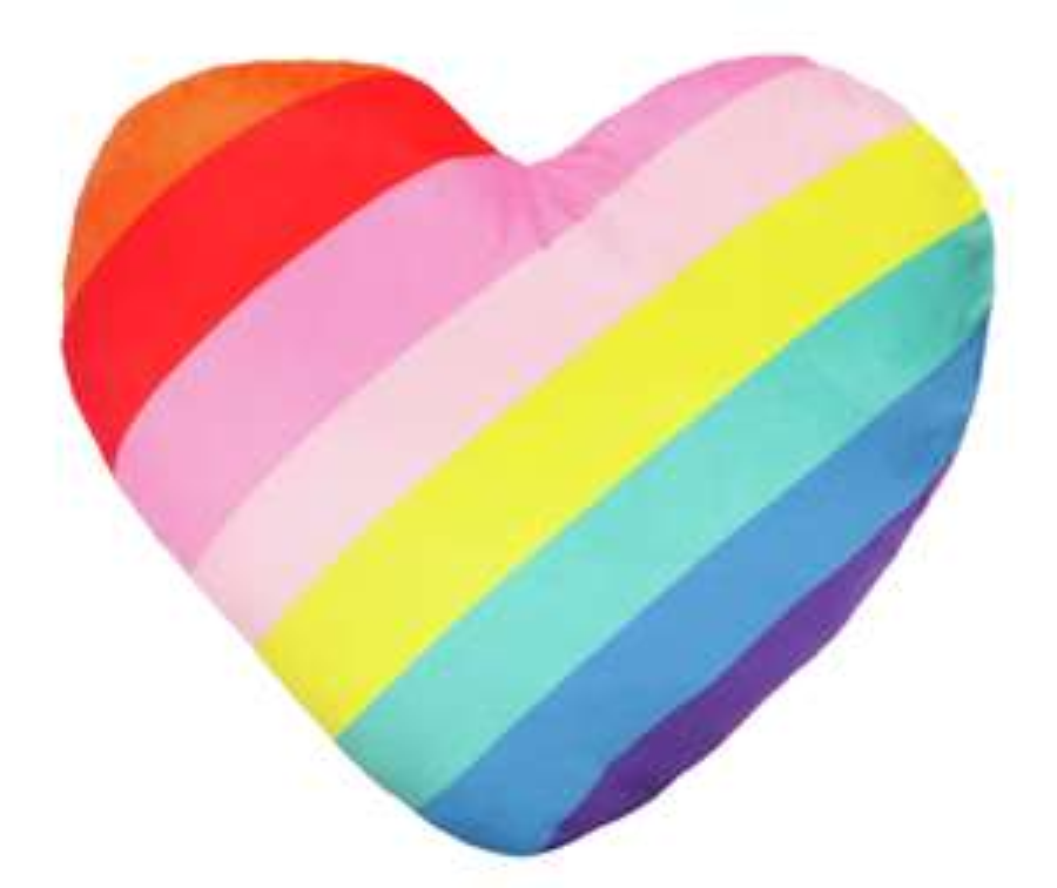 Heart Shaped Mallow Cushion for £3 @ Argos
