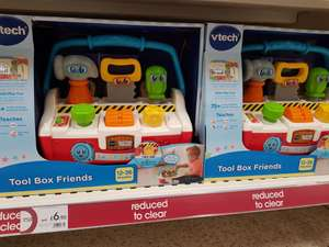 Tool Box and Friends vtech £6.90 at Wilko Sale Greater Manchester