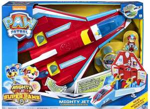 Paw Patrol 6053098 Super PAWs, 2-in-1 Transforming Mighty Pups £29.99 at Amazon