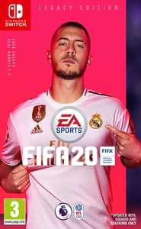 FIFA 20 Nintendo Switch Legacy Edition (eshop download) £22.49 at Nintendo Shop
