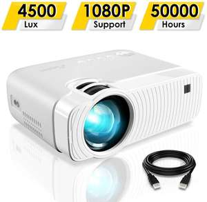 ELEPHAS GC333 Portable Projector - Supports 1080p £47.50 Sold by Glomark Source and Fulfilled by Amazon