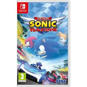 Team Sonic Racing Switch - £17.99 in-store @ Game Bury The Rock