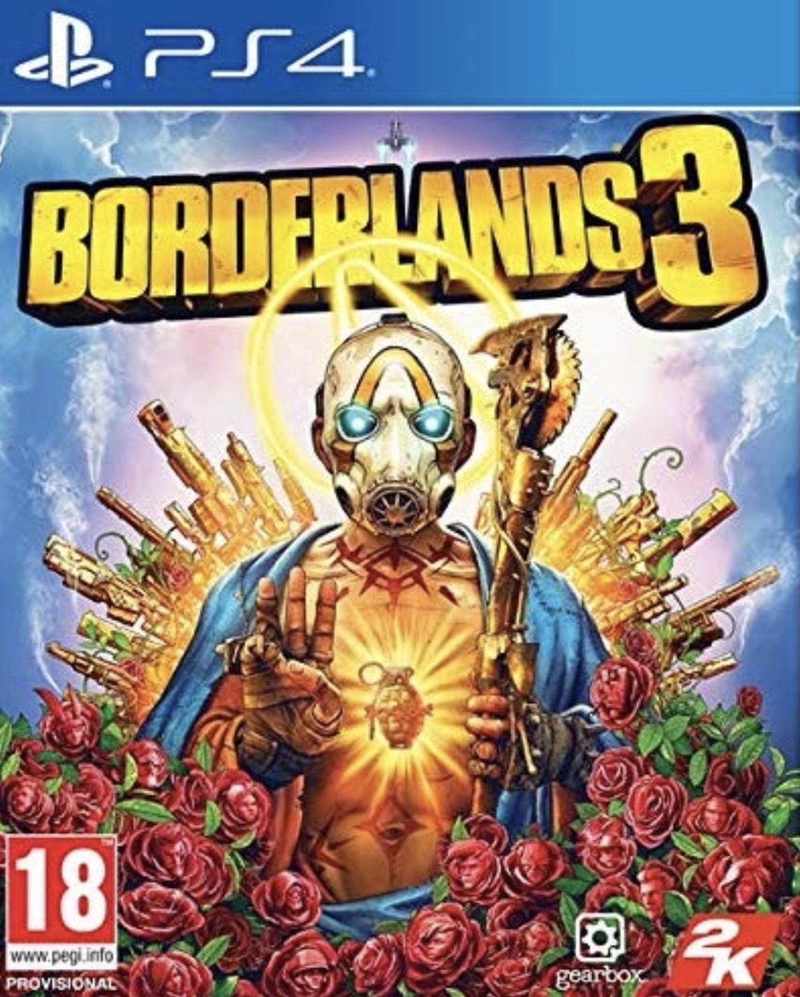 Borderlands 3 £16.99 (Ex-rental) @ boomerang rentals via eBay