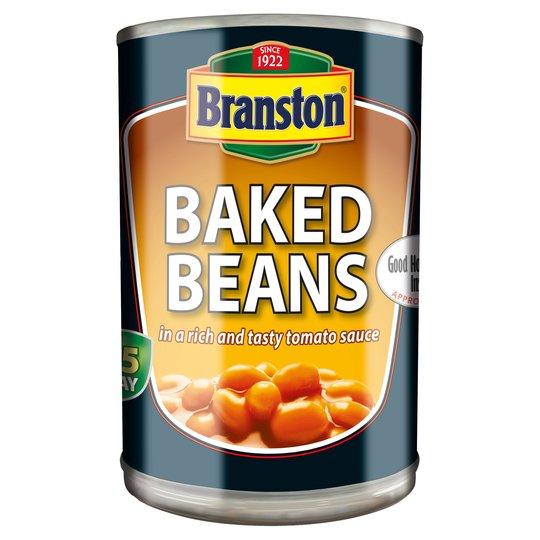 Branston Baked beans 2*410g - 59p instore @ B&M, Bedworth