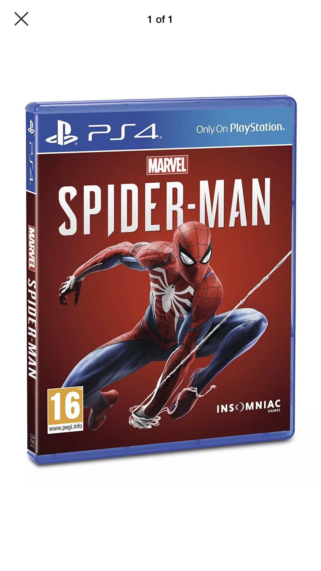 Spiderman PS4, Used - good - £12.99 @ boomerangrentals / eBay