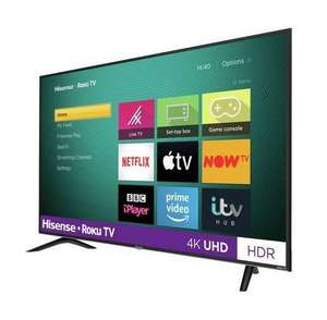 Refurb Hisense R43B7120UK 43 Inch SMART 4K Ultra HD + 1 Year warranty (50 inch £239.99, 55 inch £279.99)- £199.99 delivered@Electrical deals