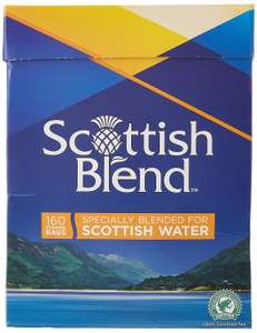 Scottish Blend Pyramid Tea Bags, Pack of 8 x 160 Tea Bags - £5.45 @ Amazon Prime Now