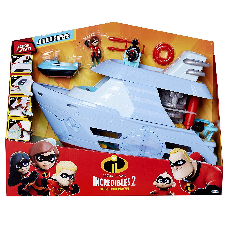 Incredibles 2 Hydrofoil Adventure Playset £11.99 (Prime) + £4.49 (non Prime) at Amazon