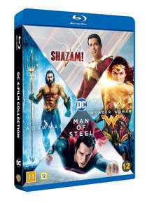 DC Comics 4-Film Collection [Shazam! / Aquaman / Wonder Woman / Man of Steel] (Blu-ray) - £16.99 Delivered @ Coolshop