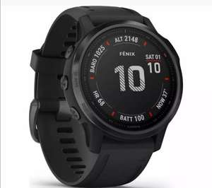 New Other - GARMIN Fenix 6S Pro Health & Fitness Tracking Android & iOS Smartwatch - Black £370 @ Tech Wholesale Uk/Ebay