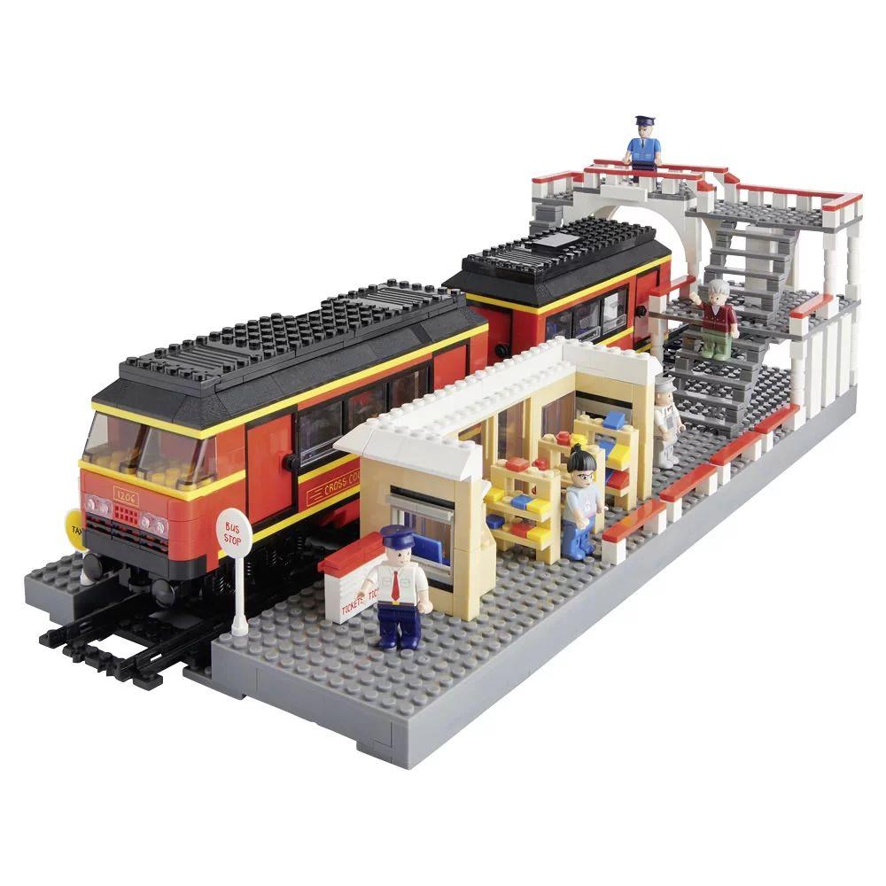 Wilko Blox Train Station Mega Set £15 instore @ Wilko, Lancashire