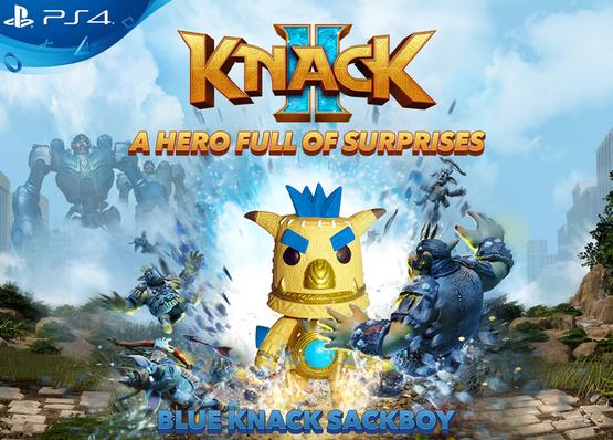 PlayStation Knack Sackboy Keyring - £2.22 delivered @ ShopTo