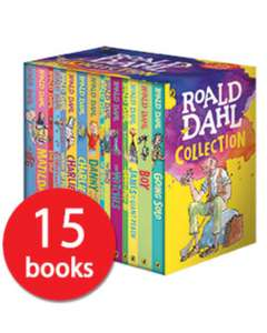 Roald Dahl 15 Book Collection £15.30 + £2.95 delivery or free delivery over £25 + 30% off with a £30 spend